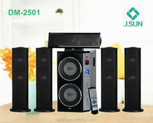 Music equipment 5.1 home theater sound system for disco