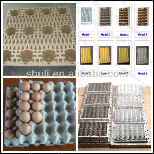 Rotary Egg Tray Making Machine with drying system // 0086 13703825271