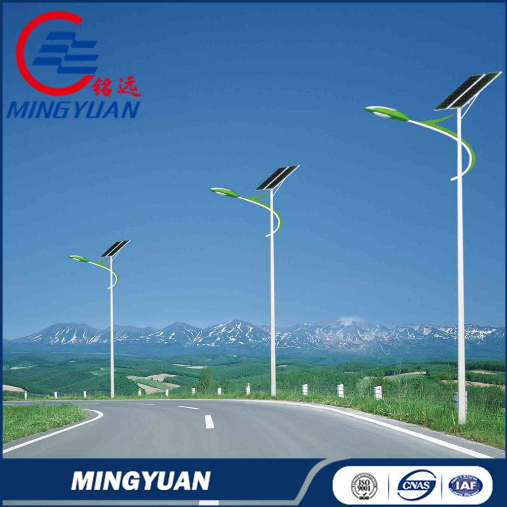 3m to 12m street light pole solar street lamp post manufacturer