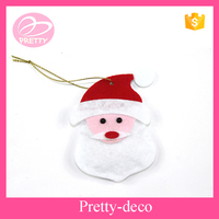 2016 new products Christmas santa head hanging decoration