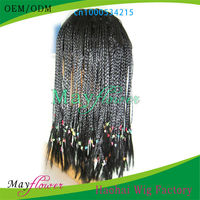 african american braided wigs for black women lace front wig Indian remy hair