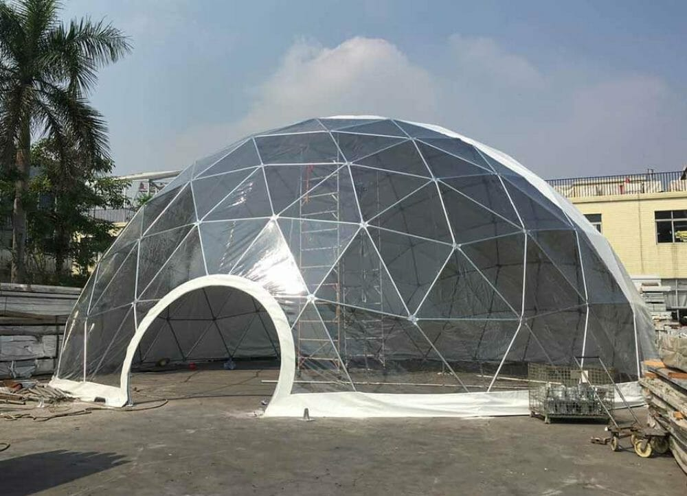 Factory design transparent garden tent outdoor camping dome tents for sale uk