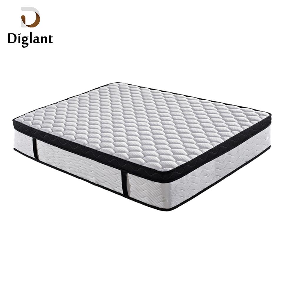 DM050 Diglant Gel Memory Latest Double Fabric Foldable King Size Bed Pocket bedroom furniture turkish mattress - Jozy Mattress | Jozy.net