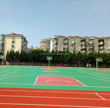 synthetic spu coating flooring used basketball courts for sale