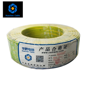 BV BVR RV H05V-U H05V-K H07V-U H07V-K COPPER CCA CCS STEEL CONDUCTOR PVC NYLON INSULATION ELECTRIC single building wire