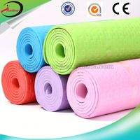 cheap price unique yoga mats pvc extra thick yoga mats sale 1 piece free