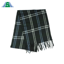 User-friendly design plaid women imitation cashmere scarf