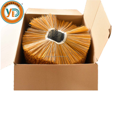 Galvanized Steel Ring PP Wires Sweeper Wafer Brush