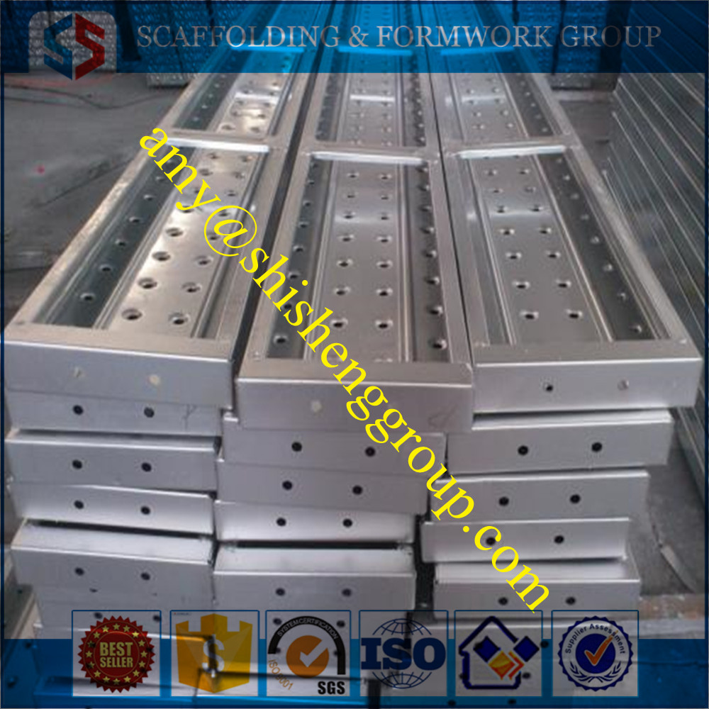 Tianjin SS Group expanded metal plank Q235 pre-galvanized walking platform
