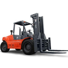 New diesel forklift price FD100 10 tons forklift with full free with triplex mast
