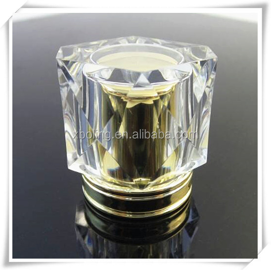 wholesale transparent perfume bottle cover acrylic perfume cap for luxury perfume