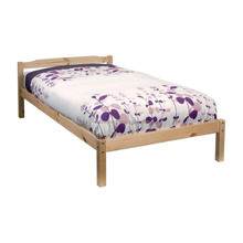High quality pine single bed