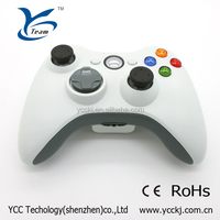 high quality wireless gamepad for xbox 360 price in China wireless controller for xbox 360 - white with wholesale price