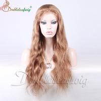Long Hair Remy Virgin Blonde Lace Wig