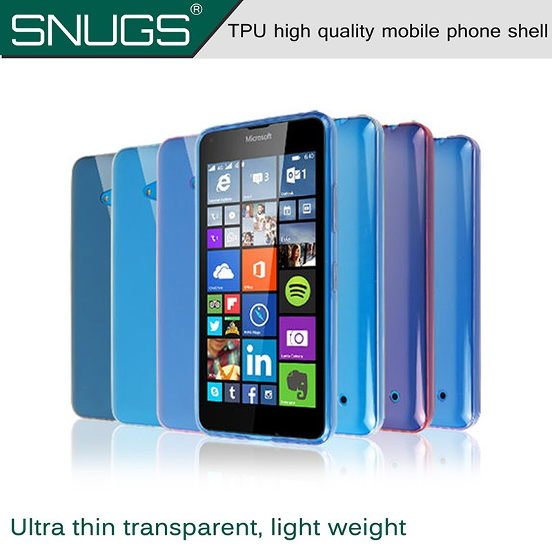 Transparent Clear Case for Nokia 640 Soft Silica Gel TPU Case Silicone Cover Ultra Thin Mobile Phone Case