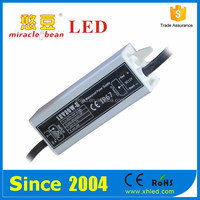 Waterproof Shell DC12V 3A Led Power Supply CE & RoHS 2 Years Warranty IP67 20W Led Driver
