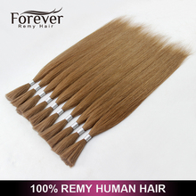 Forever High quality cheap 100% human virgin asian wet and wavy hair bulk wholesale