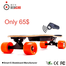Hot Sale electric skateboard with control remote power boosted skateboard