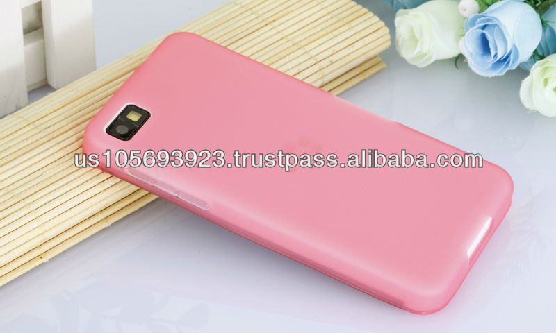 Factory Price Soft TPU Case For Blackberry Z10