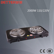 Electric infrared Cooker 2000W portable electric hot plate