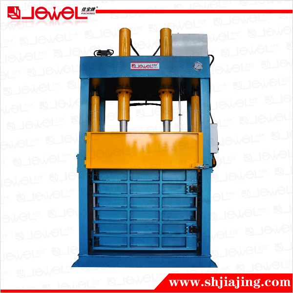 CE certified factory direct sale Hydraulic machine compressed t shirt baling press machine