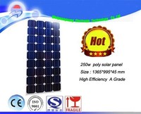 High Efficiency CE Polycrystalline Solar panel 250w