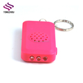 Alibaba good quality 3 LED keychain torch with alert