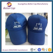 high quality Guangzhou factory 5 panel Malaysia election caps