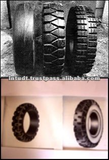 Solid Rubber Tyres Molded