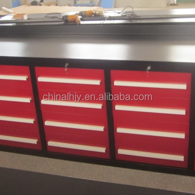 Customized Industrial Metal Tool Cabinet with Hand Tools