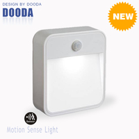 New Product Stick Anywhere Smart Corridor Security Battery Wall LED Motion Sensor Living Room Lamp With Waterproof For Indoor