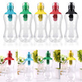550ML Portable Outdoor Filtering Water Drinking Bottle