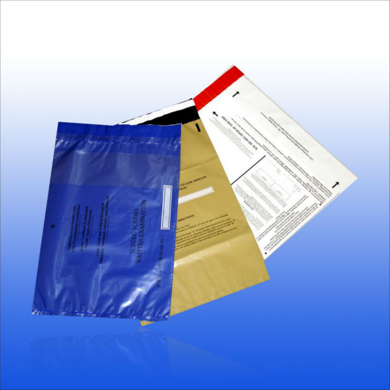 Custom Mail Packaging bags with self-adhesive strip