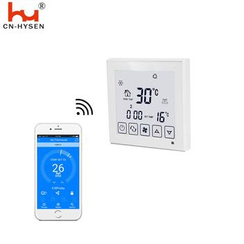 HY03AC Wifi Smart Fan Coil Units Touch Screen Thermostat