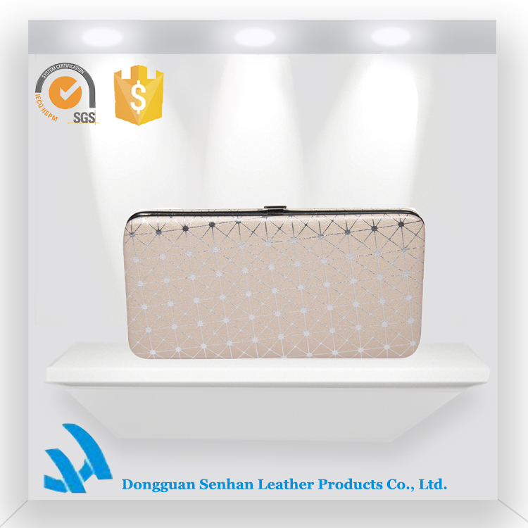 New Design Flat Frame Ladies Purses/Women Wallet/Hand Shopping Bag