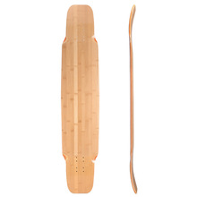 Longboard skateboard deck blank Bamboo and maple for sale