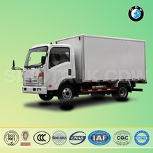 chinese SINOTRUK CDW 5ton mini goods van for sale