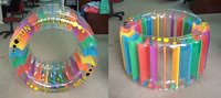rainbow wheel/water games/inflatable games/wheel float/pvc products