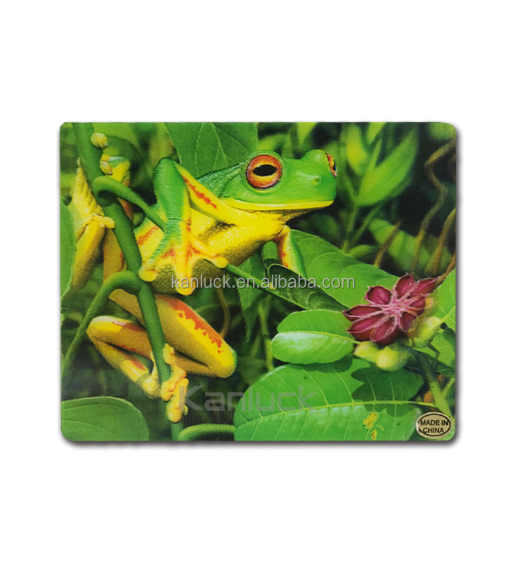 Hight Quality Plastic Lenticular 3D Picture Placemat