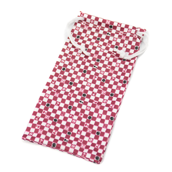 Custom Print Microfiber Eyeglass Cleaning Pouch Eyeglass Cases Bags