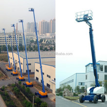 KDBZ16 16m mobile telescoping hydraulic lift platform, cherry picker with B3.3-C60 engine