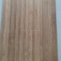 Carbonized Vertical Bamboo Veneer for Skateboards