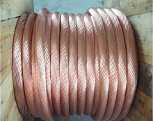 Electrical Cable and Wire Bare Copper Ground Wire