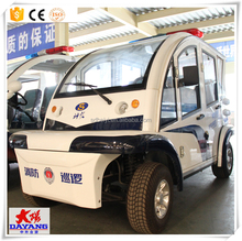2017 New Style Design Ecofriendly Pure Color Resort Tourist solar power Electric Passenger Car For Sale