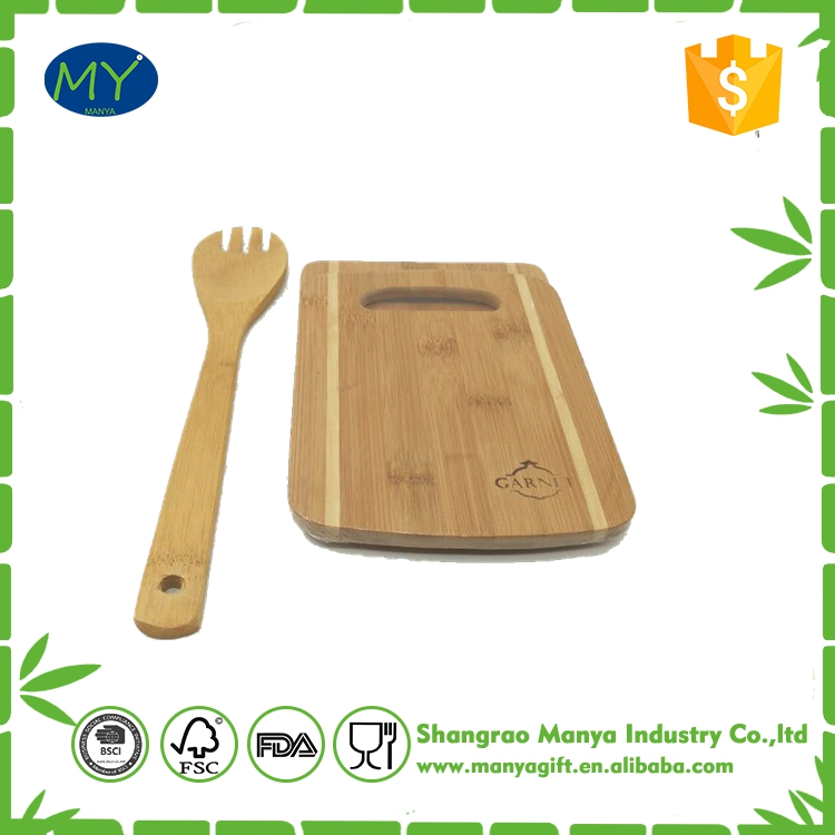 Kitchen Cutting Set organic bamboo cutting board set With Logo
