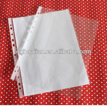 11 hole sheet protector made by automatic machine, Multi functional protector sheets, A4 low price standard sheet