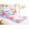 Baby and kindergarten 100% cotton quilt 3 pieces bedding sets luka town style