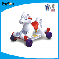 Mini plastic rocking horse running car swing horse toy for kid