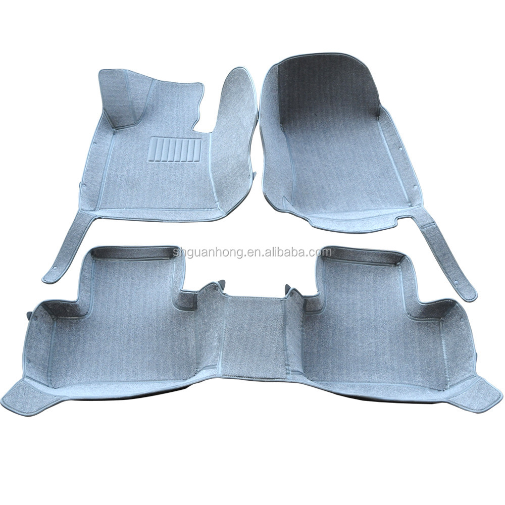 4D& 5D Kelin Blanket Material Protect the car floor from dirt, sand, mud, snow, water and oil Large Surrounded Car Mats
