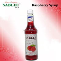 Hot Sale! Halal Raspberry Flavor Syrup Fruit Juice Beverage Filling for soft drink (900ml)